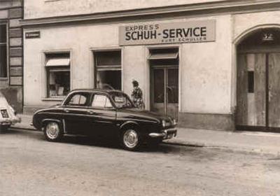 Schuhsalon Schuller im Jahre 1965