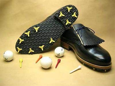 hangefertigter Golf-Maßschuh mit SpikesVon Schuhsalon Schuller