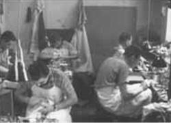 Schuhmacher Werkstatt 1986